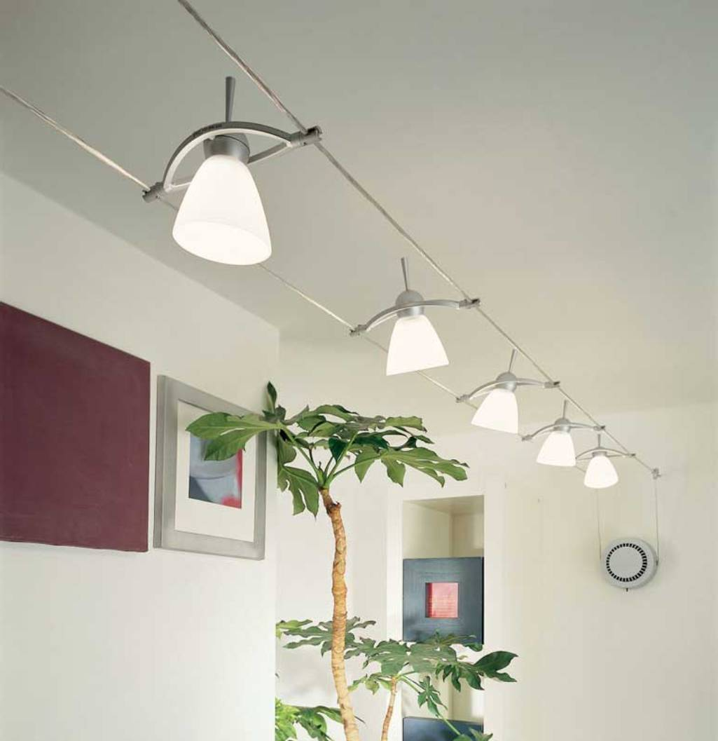Low Profile Track Lighting That Will Give Sophistication Around The Rooms Homesfeed
