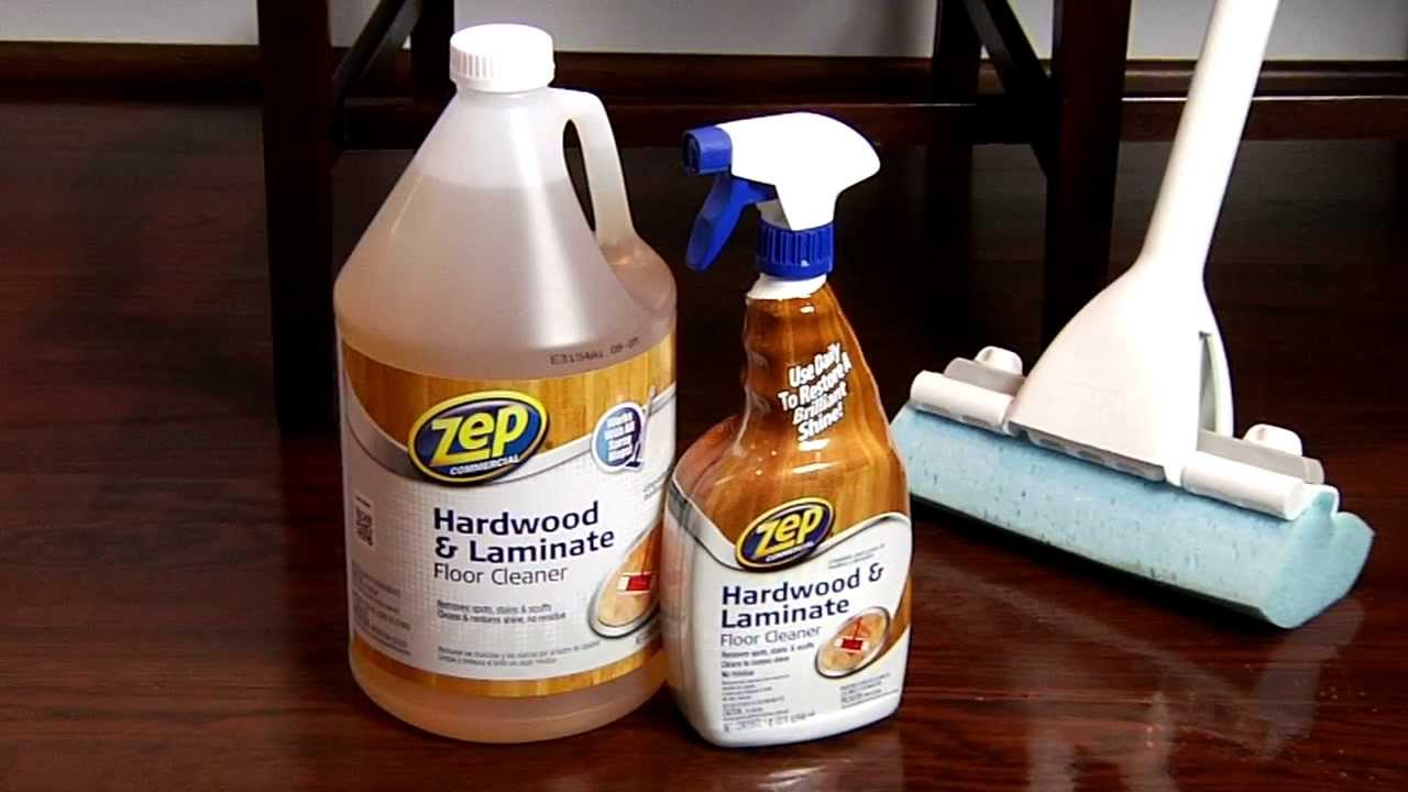 Best Product To Clean Hardwood Floors Zep Commercial Hardwood And Laminate Floor  Cleaner