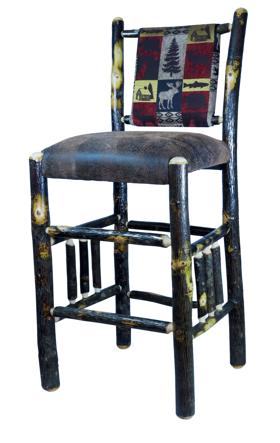 Hang Out Stylishly And Sitting Comfortably On Upholstered Bar Stool With Back Homesfeed
