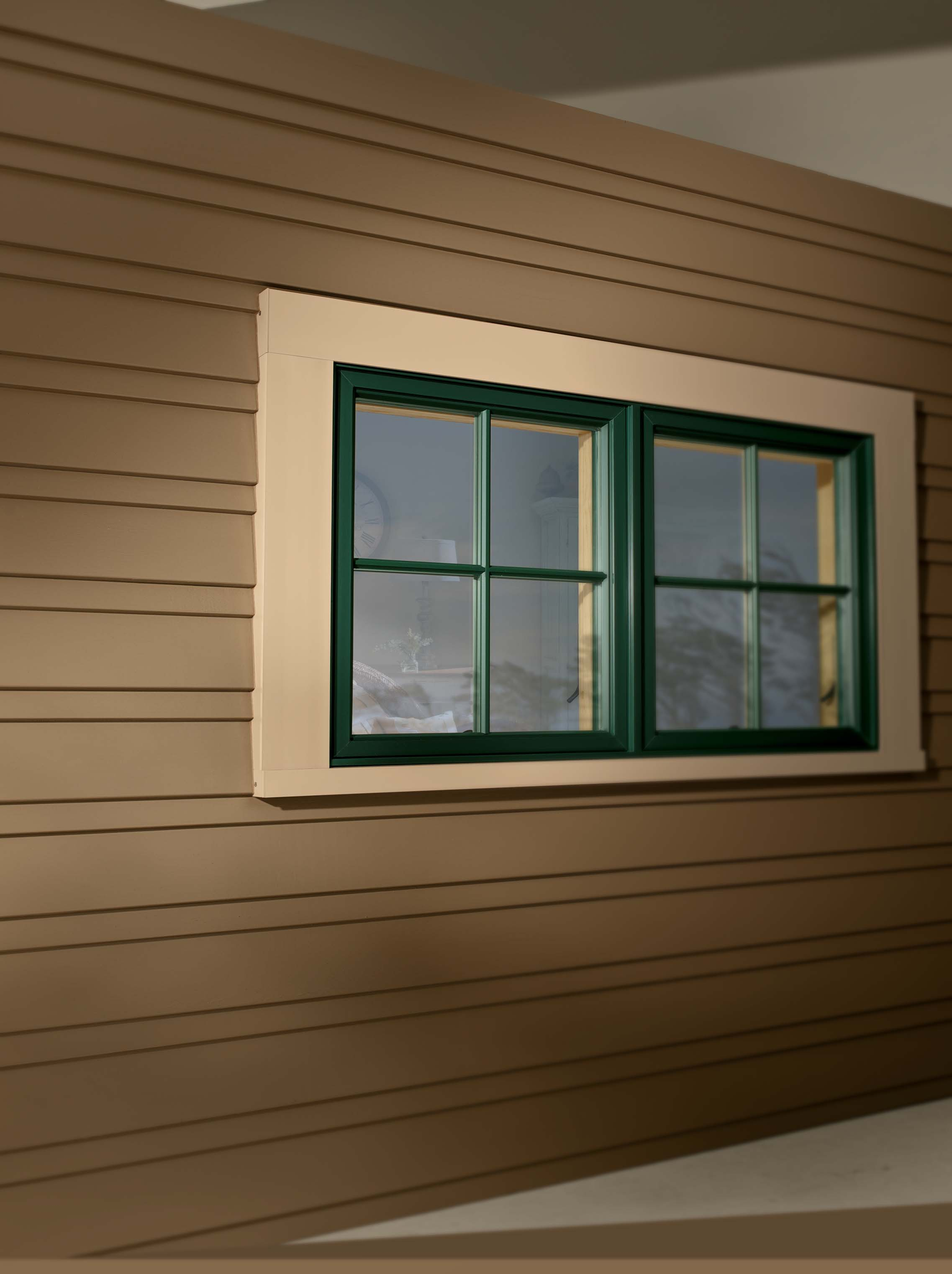 Outside window trim classic finishing idea for perfect for Picture window replacement ideas