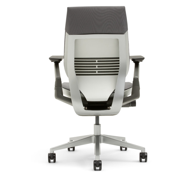 california steel case chairs with silver and adjustable back seat height for home office