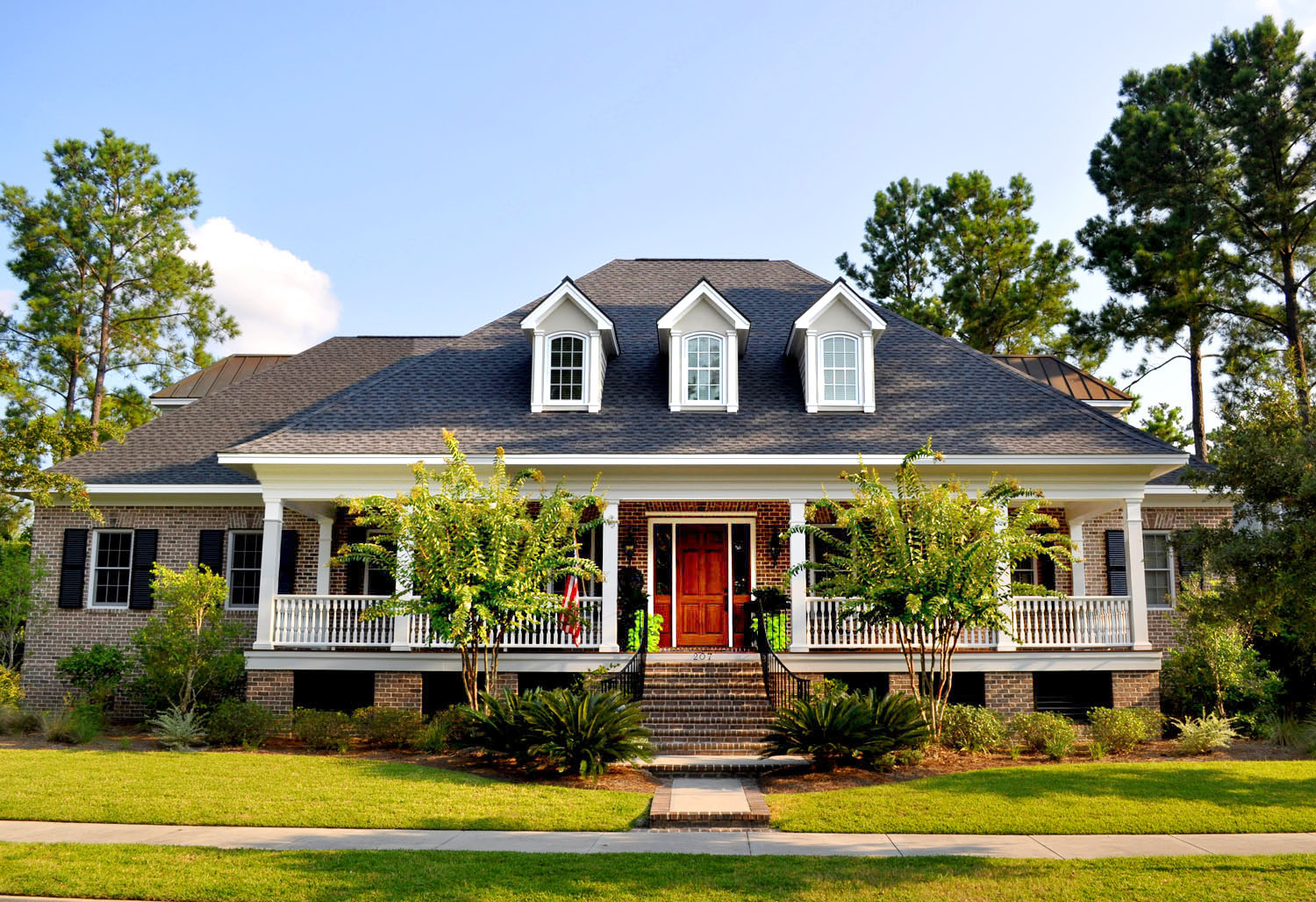 Traditional charleston style house plans for Tradition home