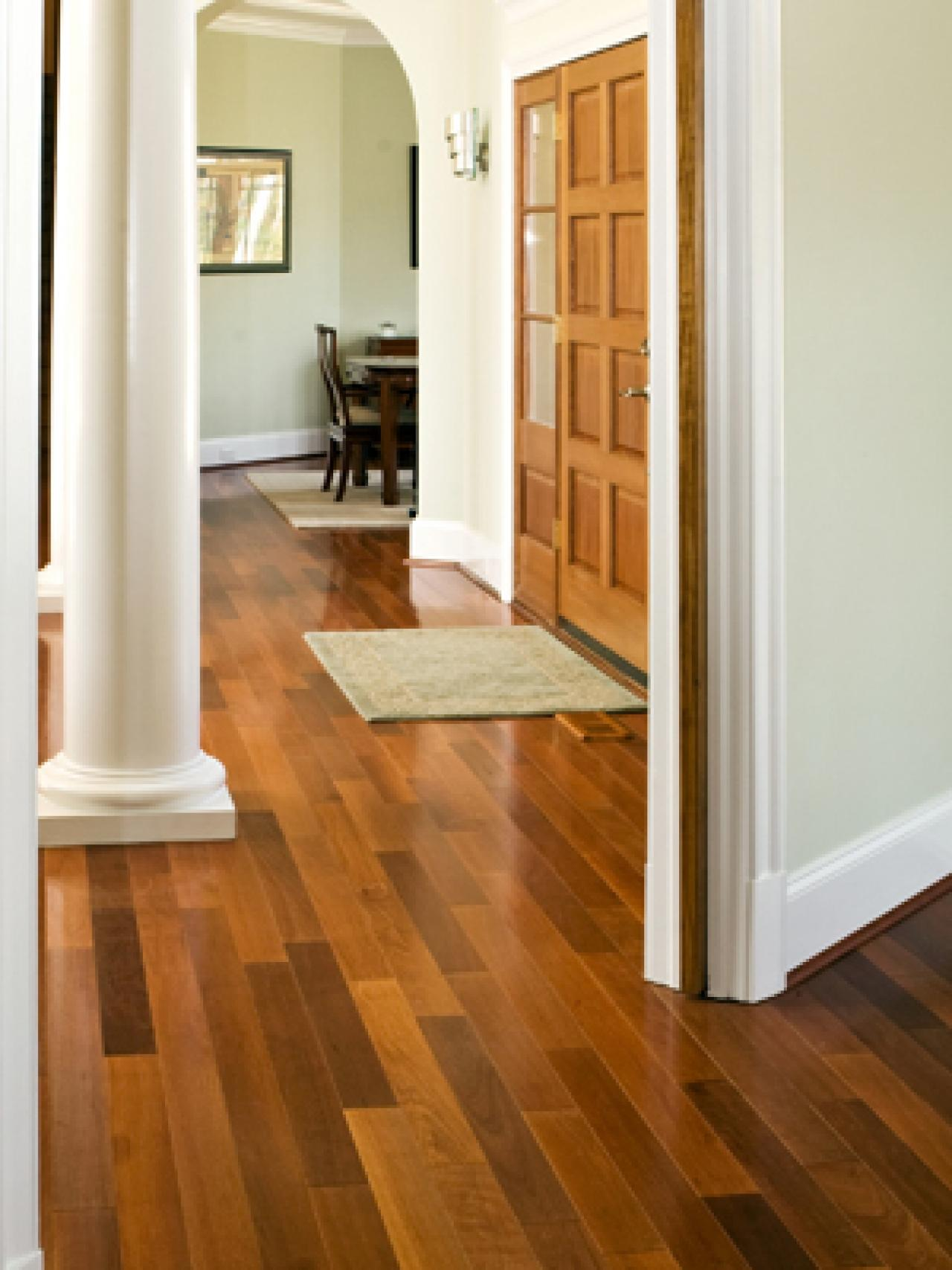 Most popular hardwood floor colors that make your floor for Wood floor paint colors
