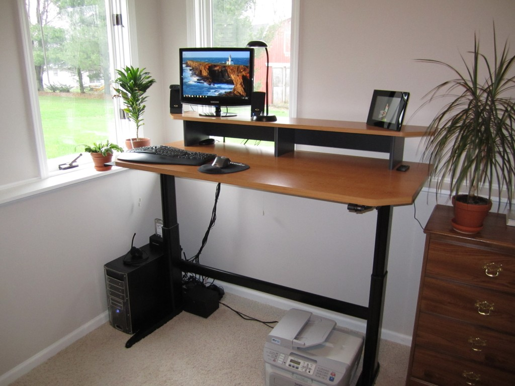 Homemade Standing Desk Showcases Creative Idea that Helps ...