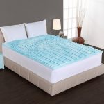 cooling mattress pad for tempurpedic in bedroom with table lamp and dark hardwood floor cooling mattress cover for tempurpedic and cooling mattress topper for tempurpedic