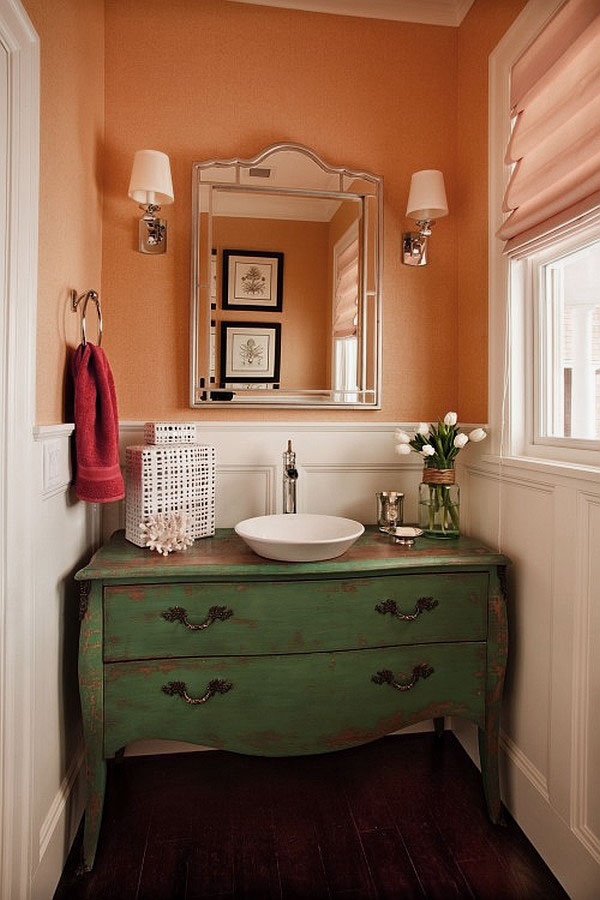 Small powder room designs homesfeed - Tiny powder room ideas ...