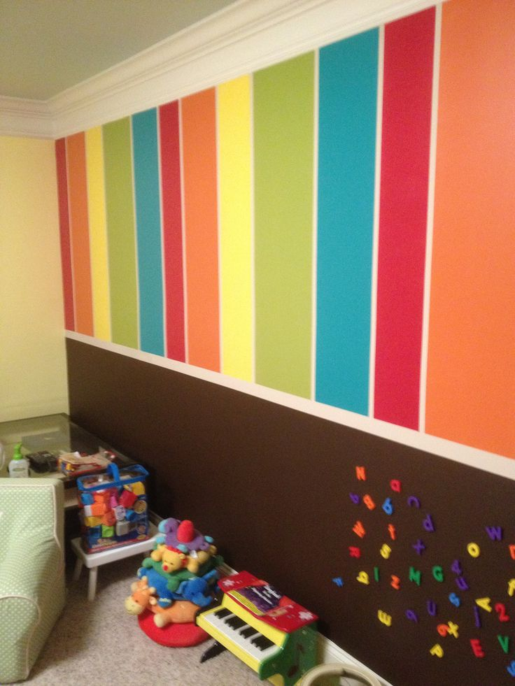 Protect your interior from stain with washable paint for for Kids room painting ideas