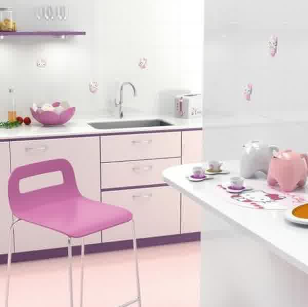 Inspiring cute kitchen d cor homesfeed for Kitchen decoration pink