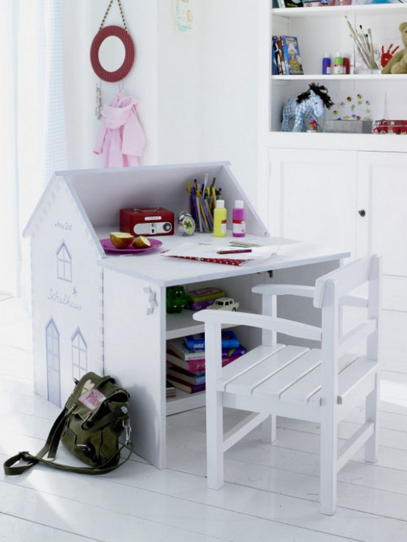 cute small white desks for kid o rteenage bedrooms plus white wooden