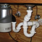 dishwasher with garbage disposal and dishwasher installation with garbage disposal for double sink drains
