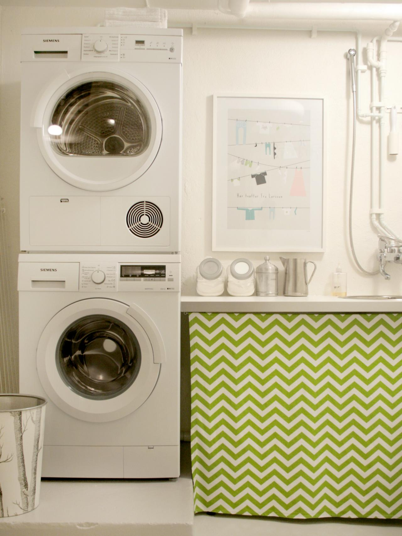 backsplash aside combo small washer dryer design in small laundry room