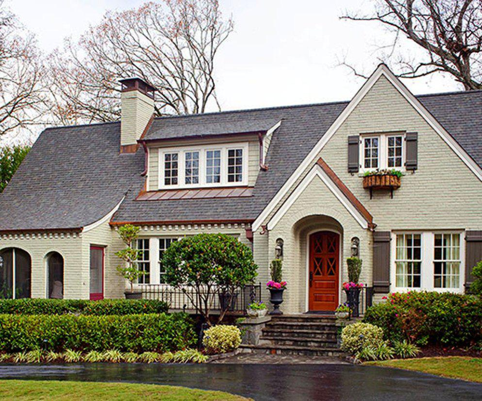 Find the most popular exterior house color for exciting for Pictures of exterior homes