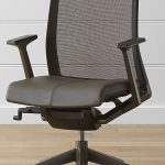 executive haworth very task chair for home office with high quality material and adjustable plus wooden floor