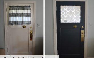 front door window curtains and front door window coverings plus front door window treatments with shades and wooden floor