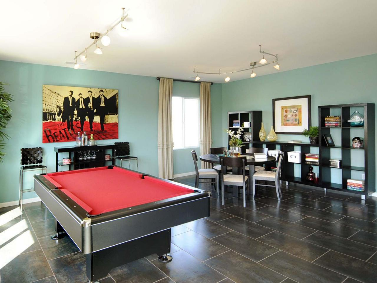 A game room for adult that will make your leisure time for Game room floor plans ideas