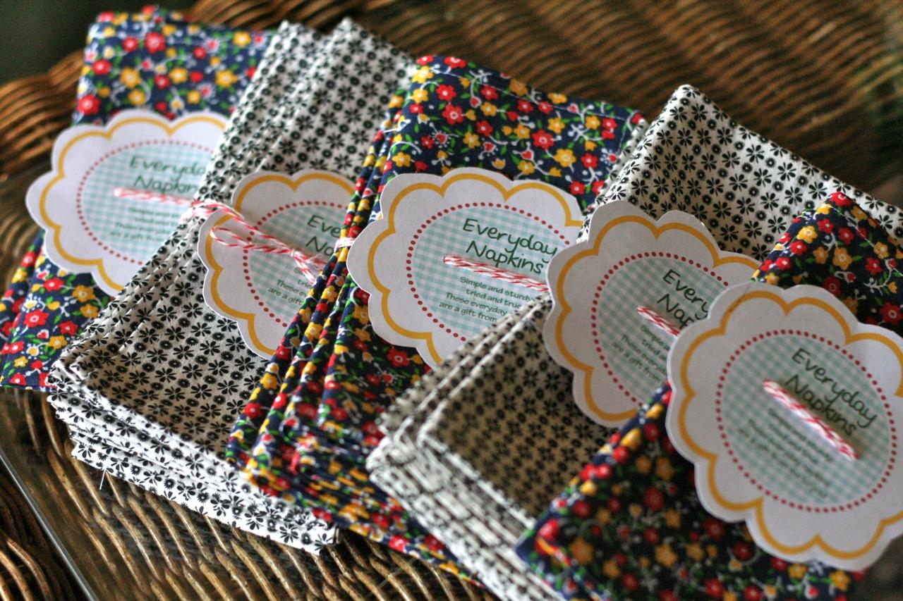 Patterned Cloth Napkins Custom Decorating
