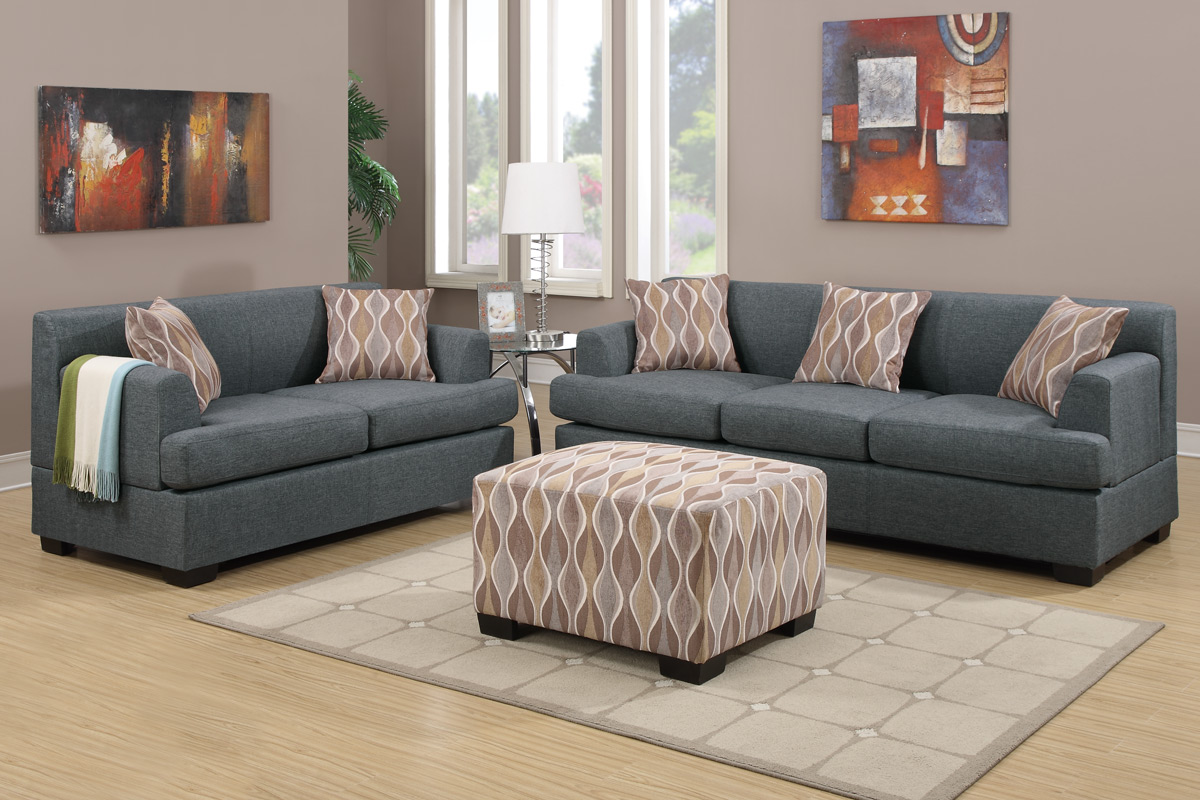 Marvelous Furniture Shipping Quote Gray Sofa In Living Room Decorated With Ottoman  Coffee Table And Modern Rug