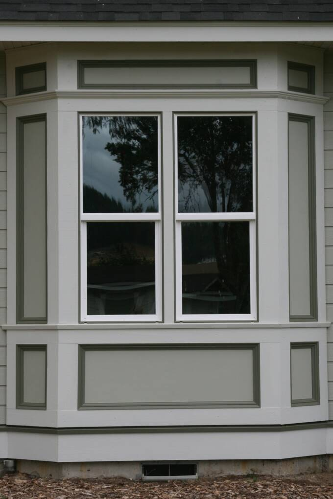 Gorgeous Arched Window Design With Dark Glass Idea With Bar Outside Window  Trim Design Above Patterned