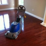 gorgeous brown hardwood floor design with vacuum cleaner for best thing to clean hardwood floor in creamy room with large glass window