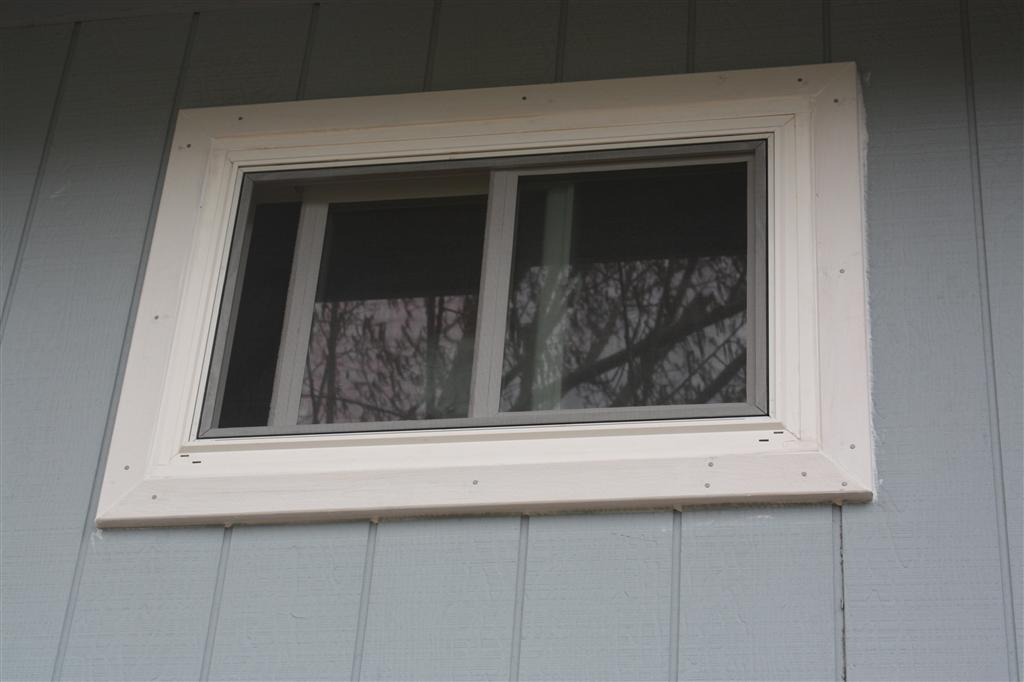 Glazed Window Trim : Outside window trim classic finishing idea for perfect