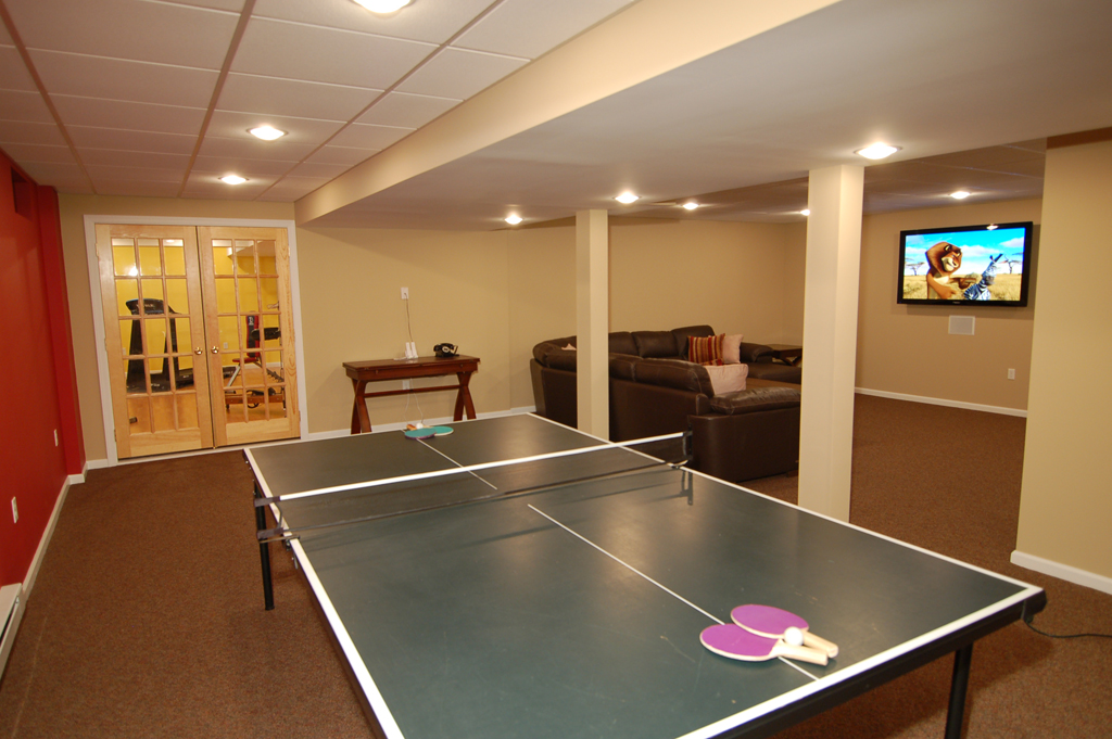 A game room for adult that will make your leisure time Interior designing games