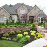 landscaping ideas for front of house with vertical garden and walkways and green plants