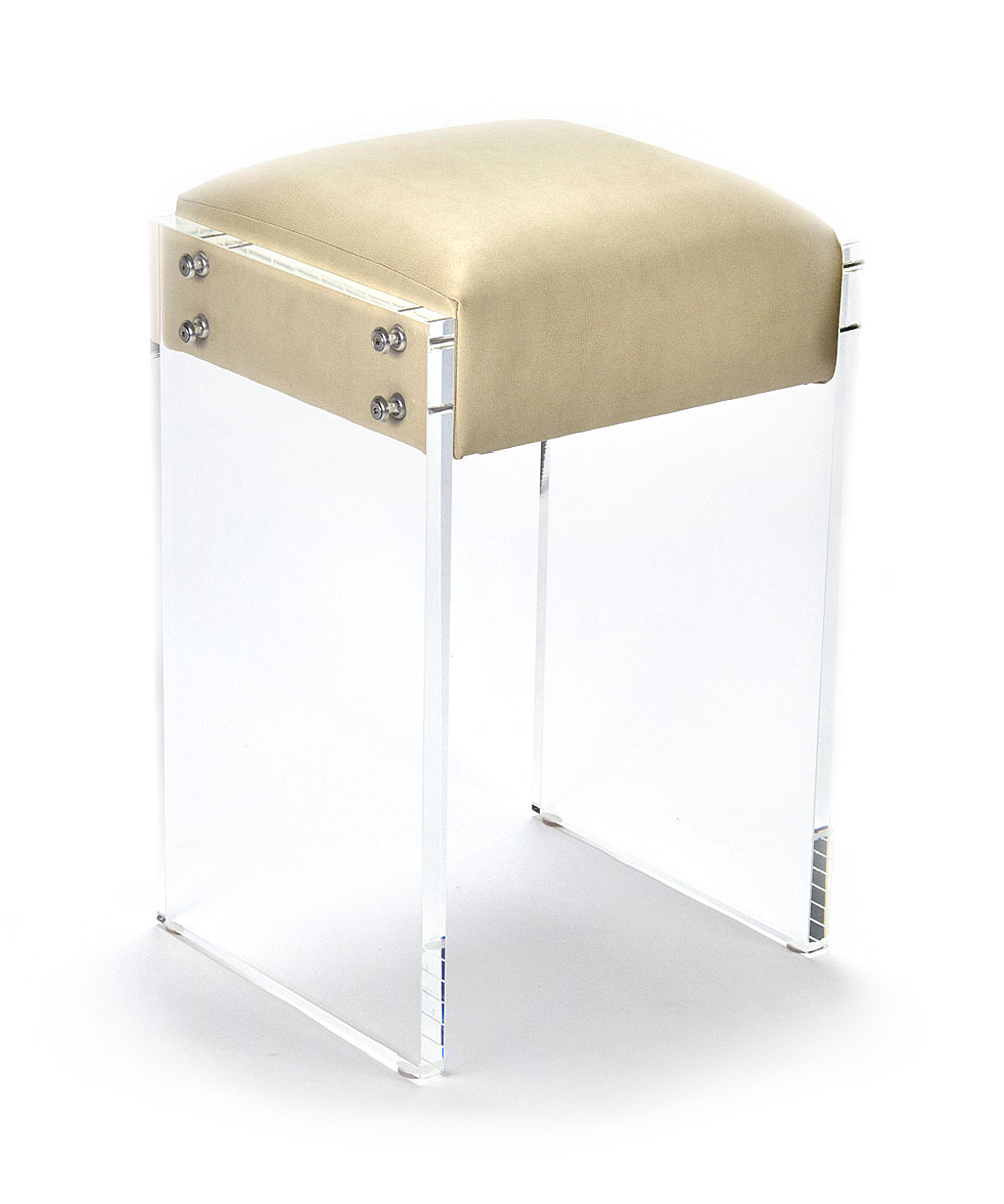 Lucite counter stools for brand new kitchen decoration and airy feel seating homesfeed Counter seating