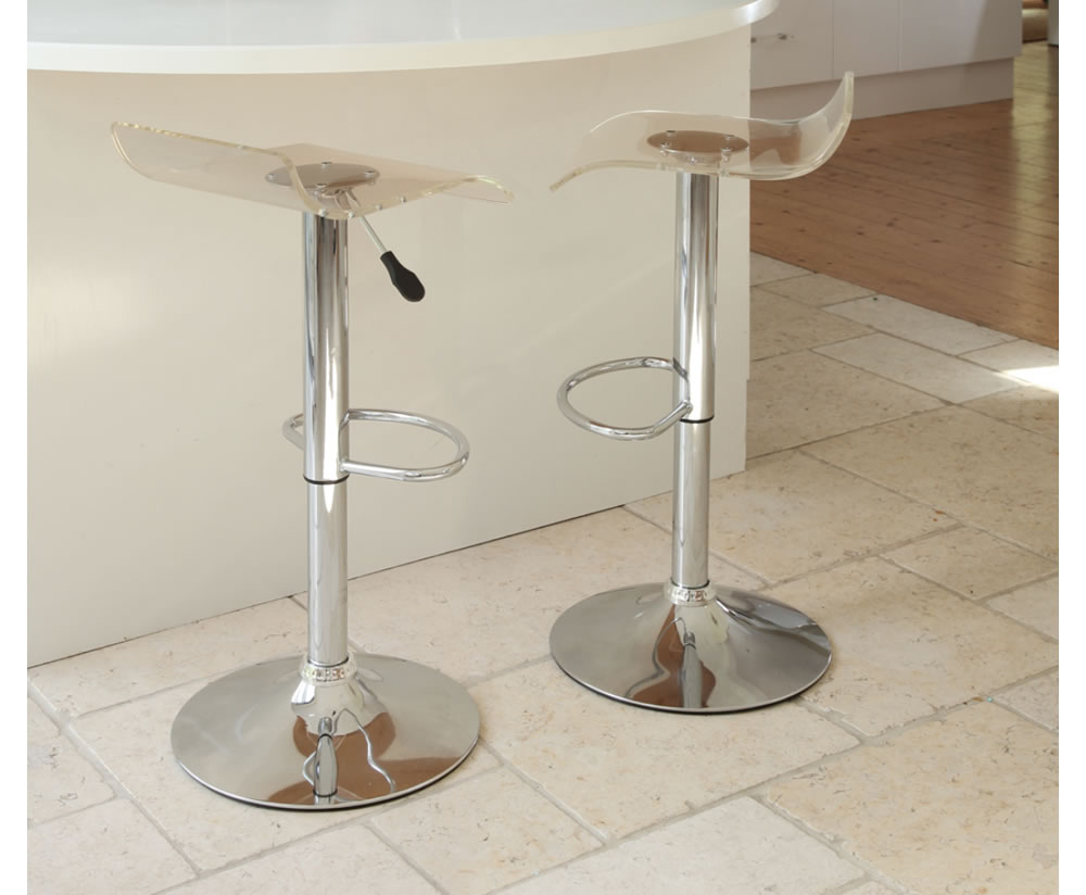 Lucite Counter Stools For Brand New Kitchen Decoration And