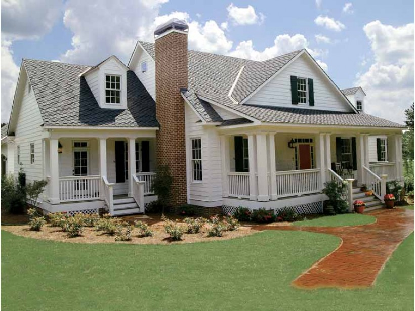 White farmhouse plans beautiful best small country homes for How to find the perfect house plan