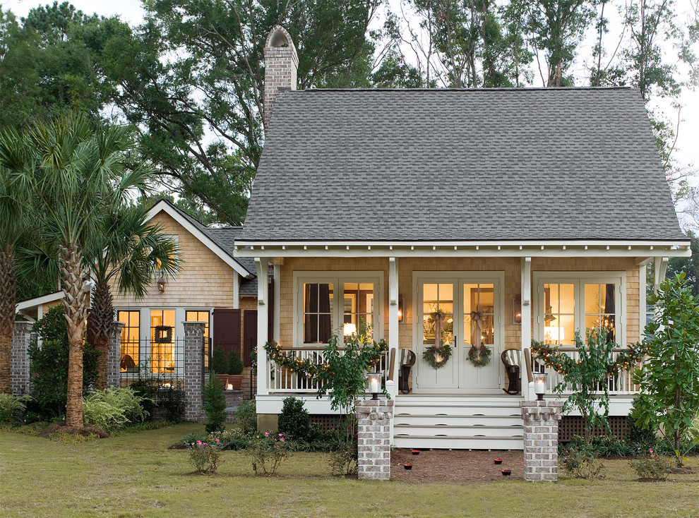 Small charleston style house plans