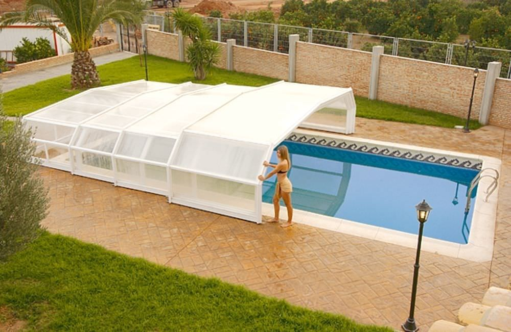 Creative and elegant pool filter cover smart decoration for Pool equipment design