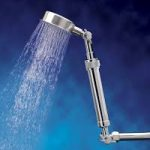 modern robot like best shower head design with filter for hair with stunning stainless stell material with strong water flow