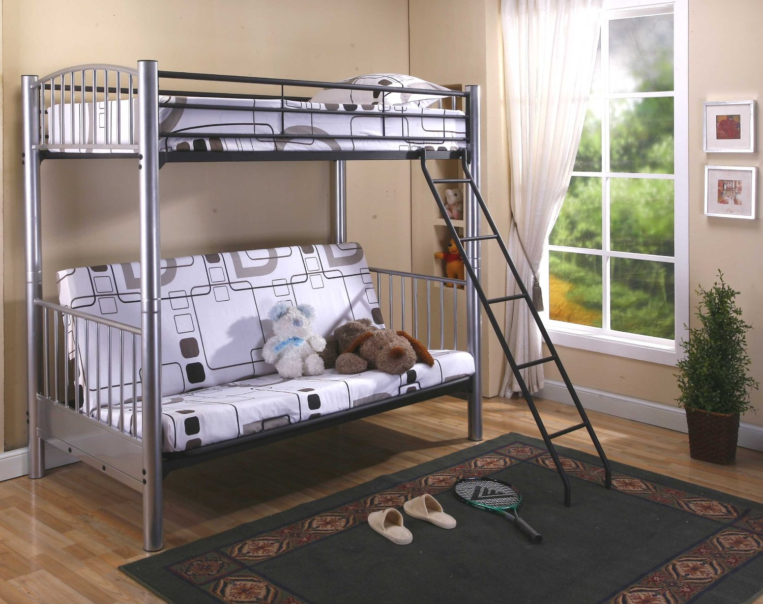 Loft beds for teenage girl that will make your daughter Bunk room designs