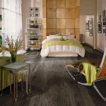 most popular hardwood floor colors grey staining for bedroom ideas with coomfy chair with footstool and green armchair metal cart plys classic end table