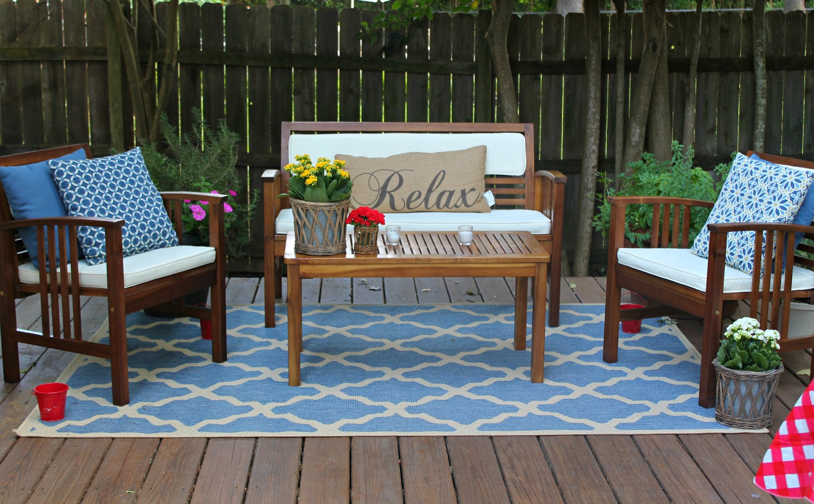 Outdoor Rugs For Decks And Patio With World Market Comfy Seating Decorative