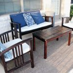 outdoor rugs for decks and patio with world market outdoor rugs with nice wooden seating and coffee table plus outdoor patio ideas