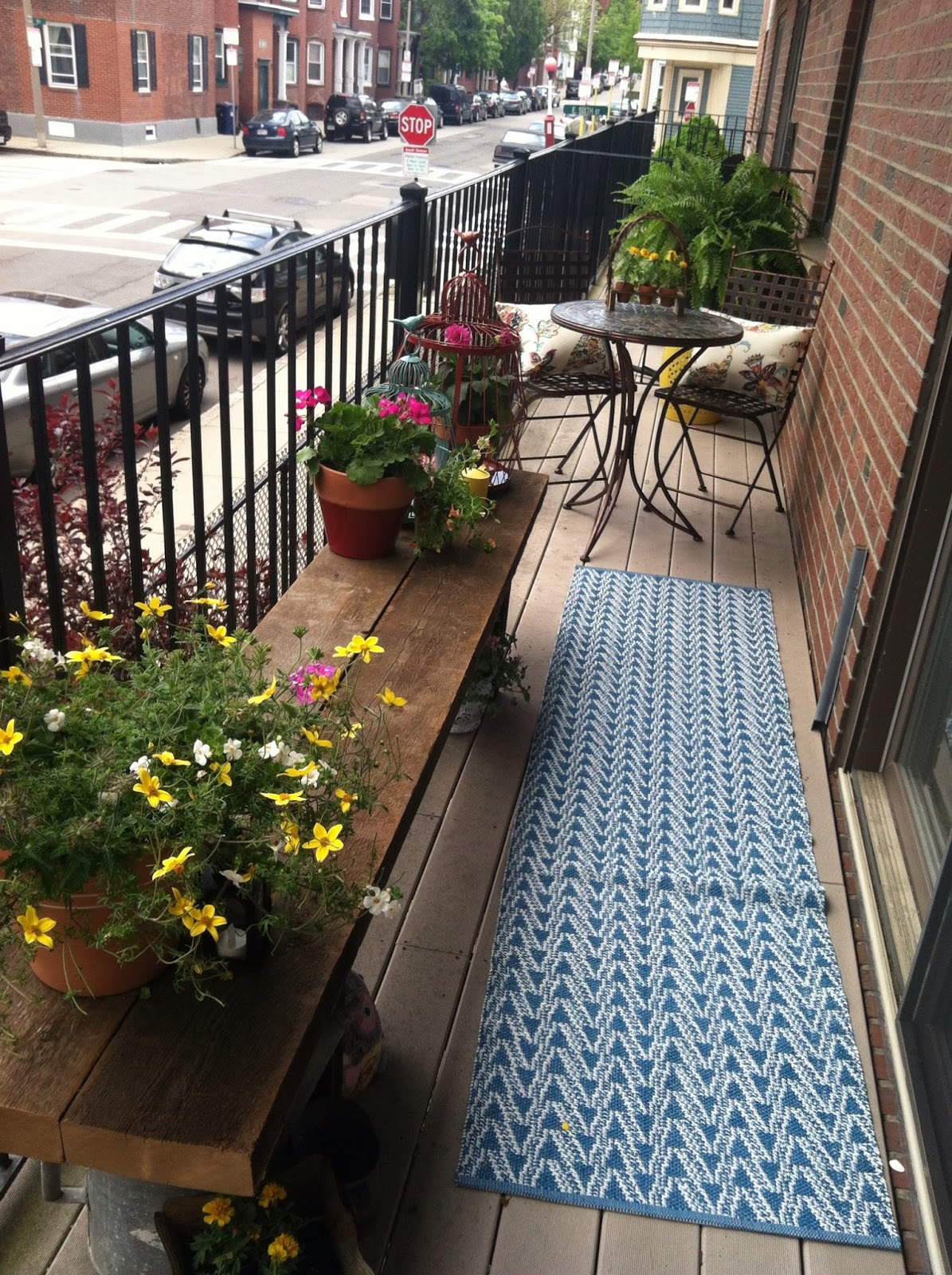 Make an exciting zone in your patio with world market for Patio decks for sale