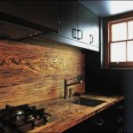 rustic backsplash design for kitchen square kitchen sink and faucet gas stove black upper and base kitchen cabinets