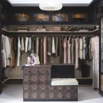 Simple Yet Modern California Closets Nyc Reviews With Exclusive Shoes Storage And Rod Under The Shelf And Wooden Cabinet Box And Crystal  Ceiling Lamp