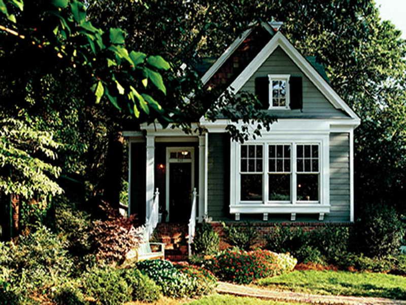 Wonderful Small Green Southern Living House Plans With Picture Design With Simple  Exterior And White Accent Beneath