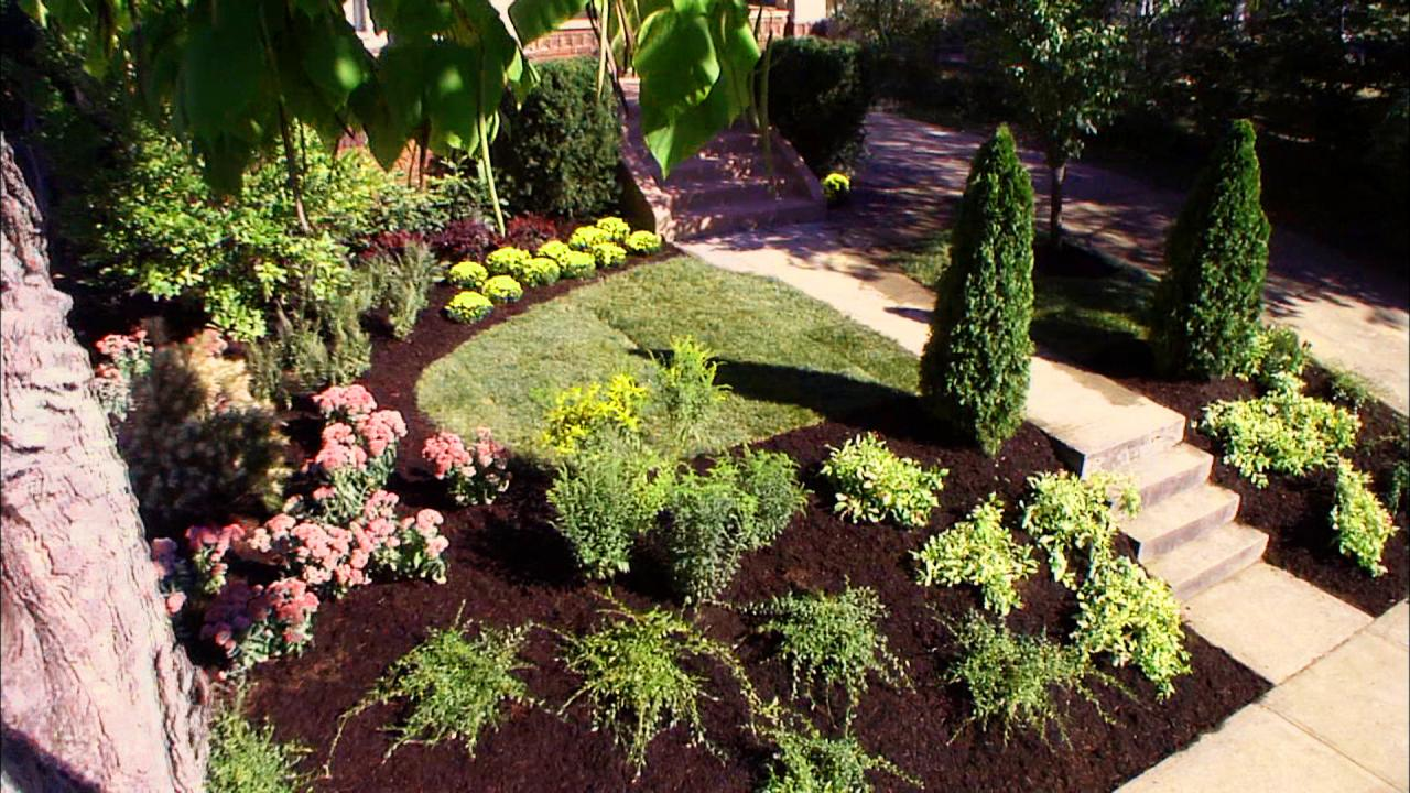 Inspiring landscaping ideas that create beautiful and for Garden design ideas for front of house