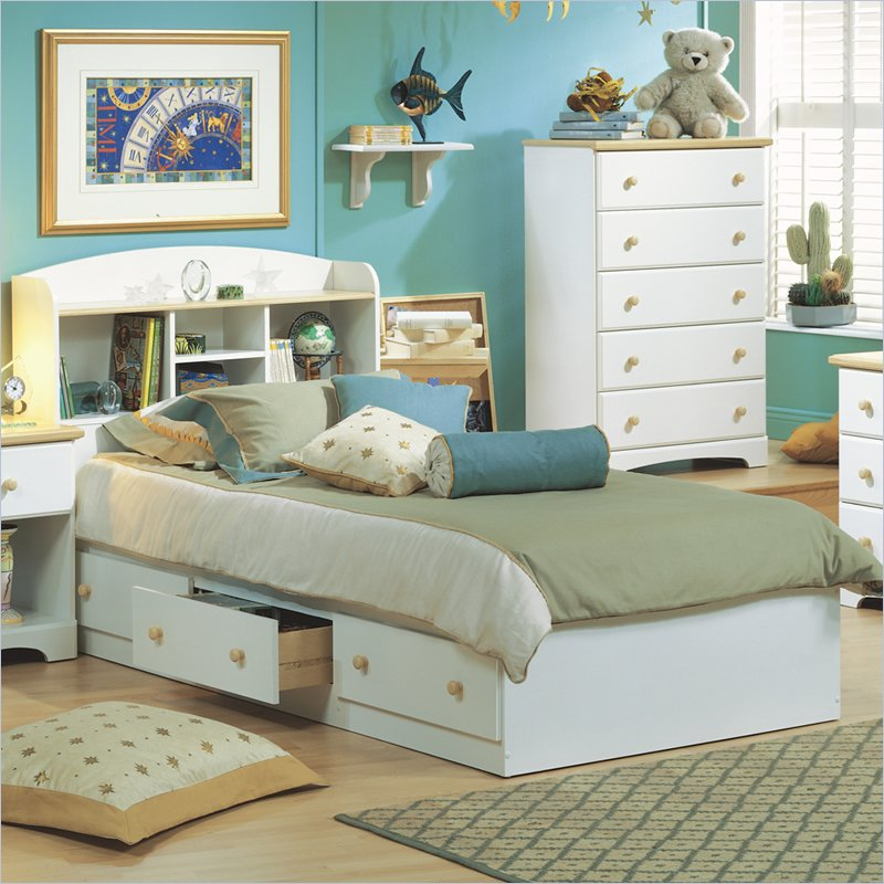 Have Your Children Twin Bed With Storage For Well