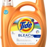 Stunning Best Non Chlorine Bleach Idea In Brown Glossy Package With Black Lid And Tide Bleach Sticker
