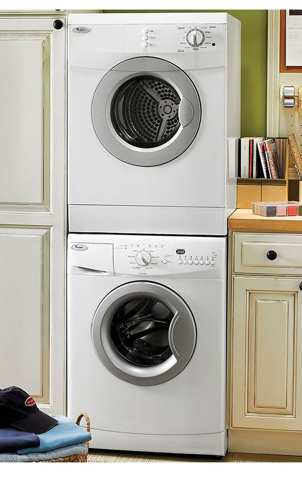 Having Small Laundry Room without Worry with Smallest Stackable ...