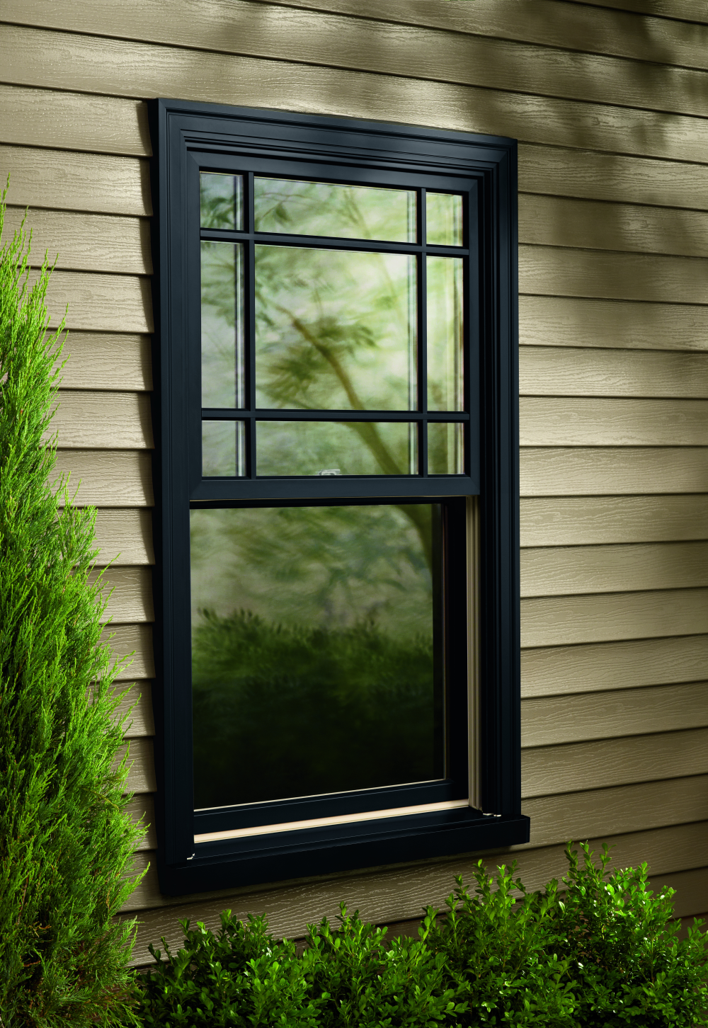 Outside window trim classic finishing idea for perfect for House window design