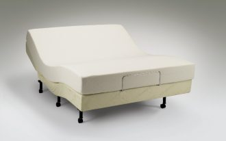 unique and stylish curve white tempurpedic sofa bed design with black legs