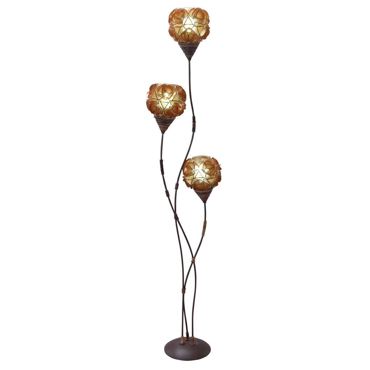 mesmerize your interior with stunning multi bulbs floor lamp. Black Bedroom Furniture Sets. Home Design Ideas