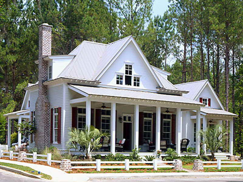Southern living house plans mango cottage for House plans with guest houses southern living