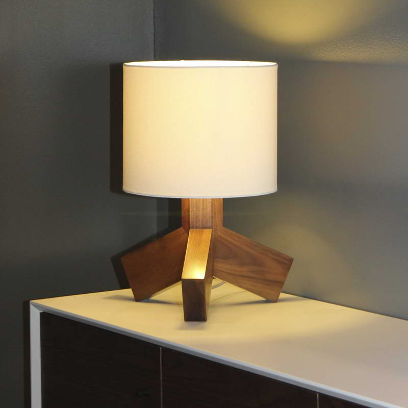 home furniture have a wireless table lamp for easy looking desk. Black Bedroom Furniture Sets. Home Design Ideas