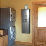 big size silver water heater